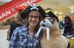 Главен пират Лора Филипова с пиратския тюлен