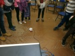 Роботчето Финч гостува на децата в с. Труд