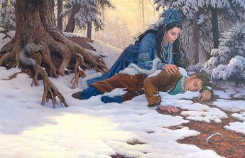Снежната царкиня и Сергей
