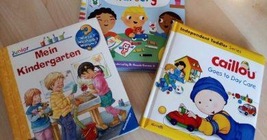 Споделено: 3 чуждоезикови книги за адаптация в детската ясла